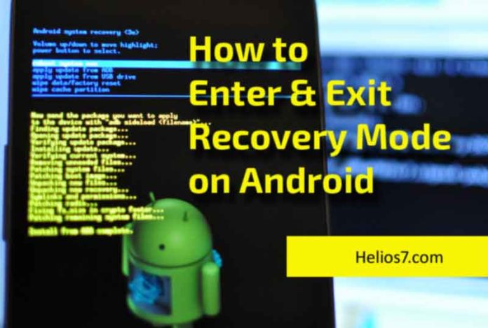 enter exit recovery mode android