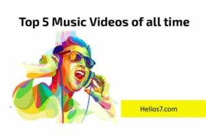 top 5 music videos youtube