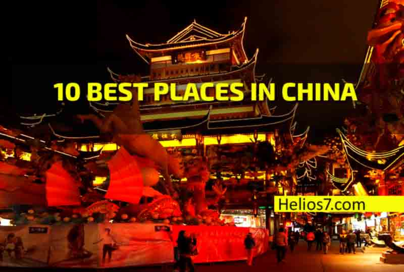 10 best places china