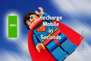 mobile recharge in seconds