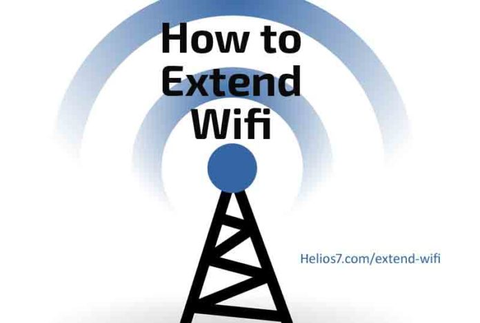 how to extend wifi