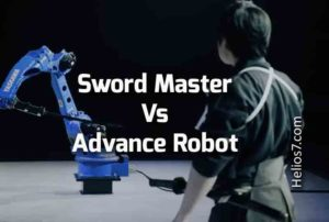sword master vs robot