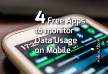 free apps data usage monitoring