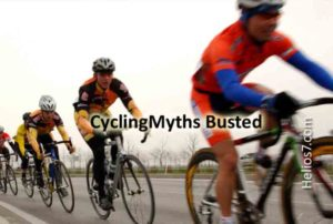 cycling myths busted