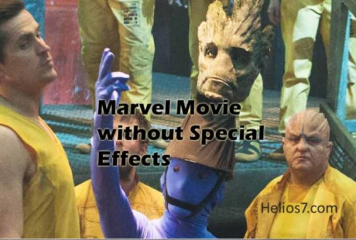 marvel movie without special effects