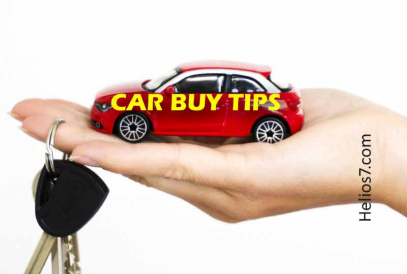 new car buy tips